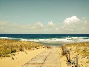 chemin dune plage